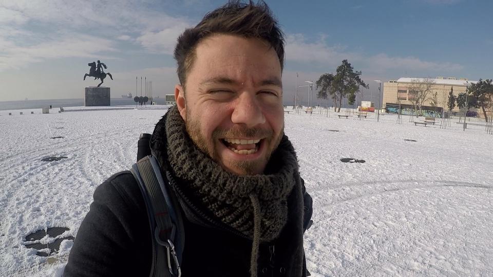 snow-thessaloniki-sunny