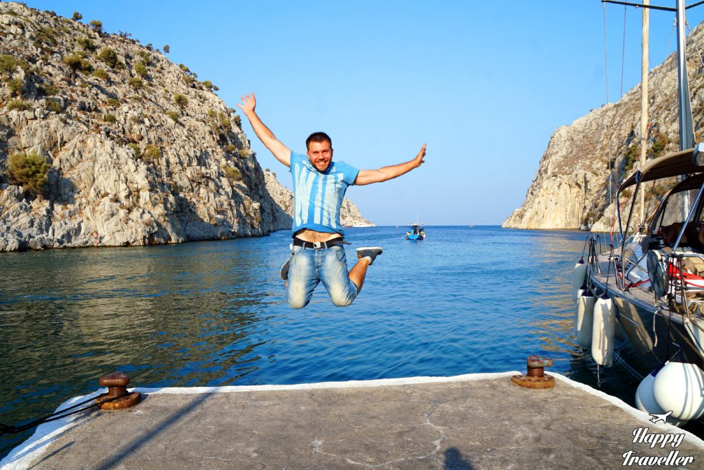 kalymnos happy traveller