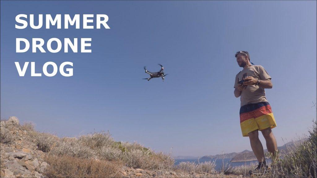 summer drone vlog