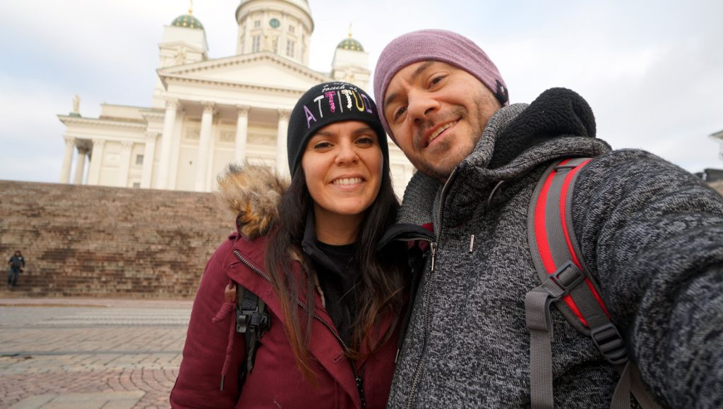finland happy traveller