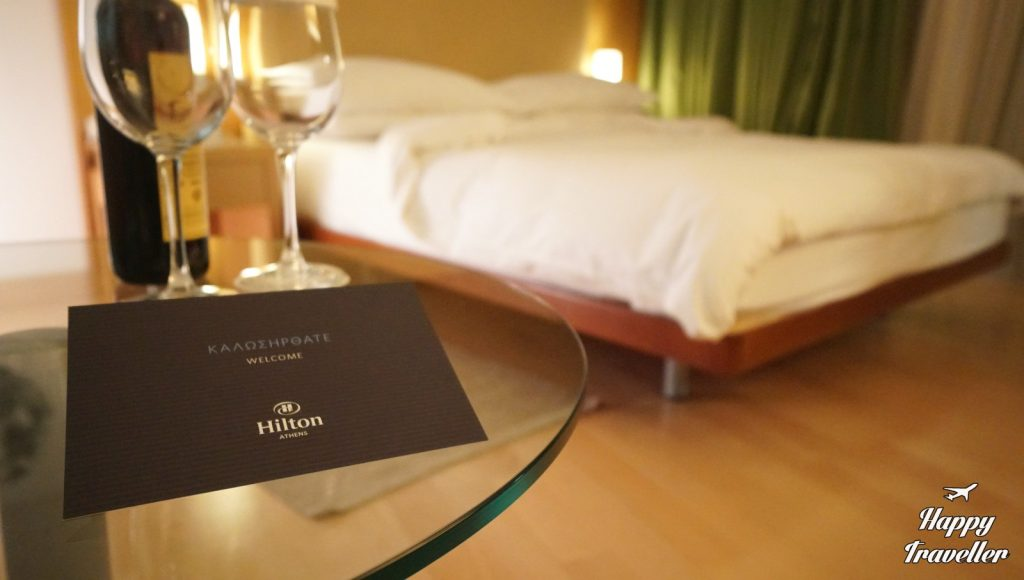 hilton athens happy traveller