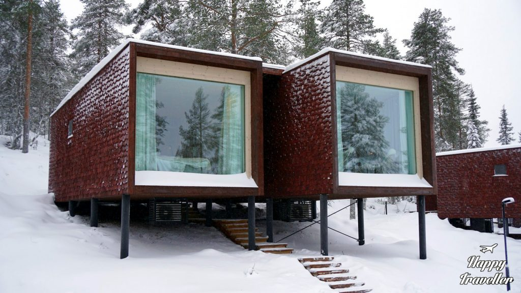 arctic tree house lapland happy traveller