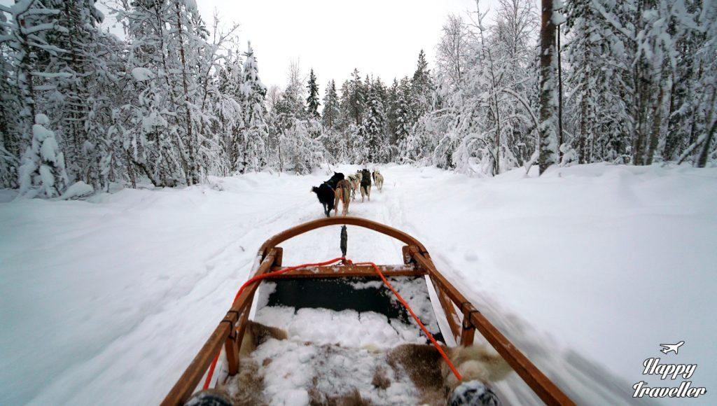 lapland happy traveller finland