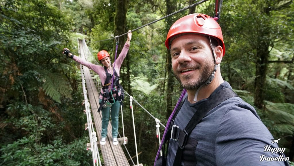 Zip Line Rotorua, New Zealand