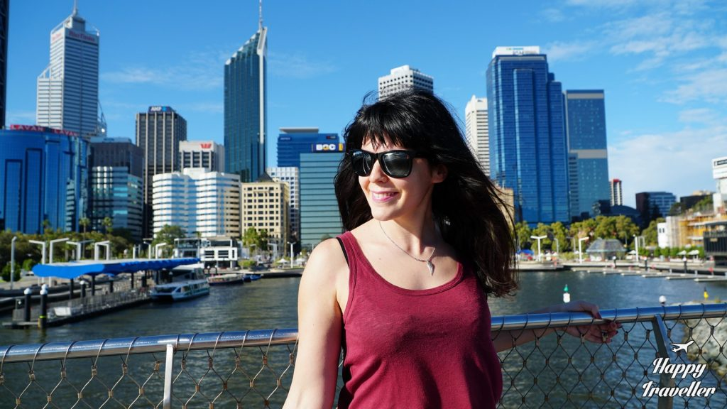 perth australia happy traveller