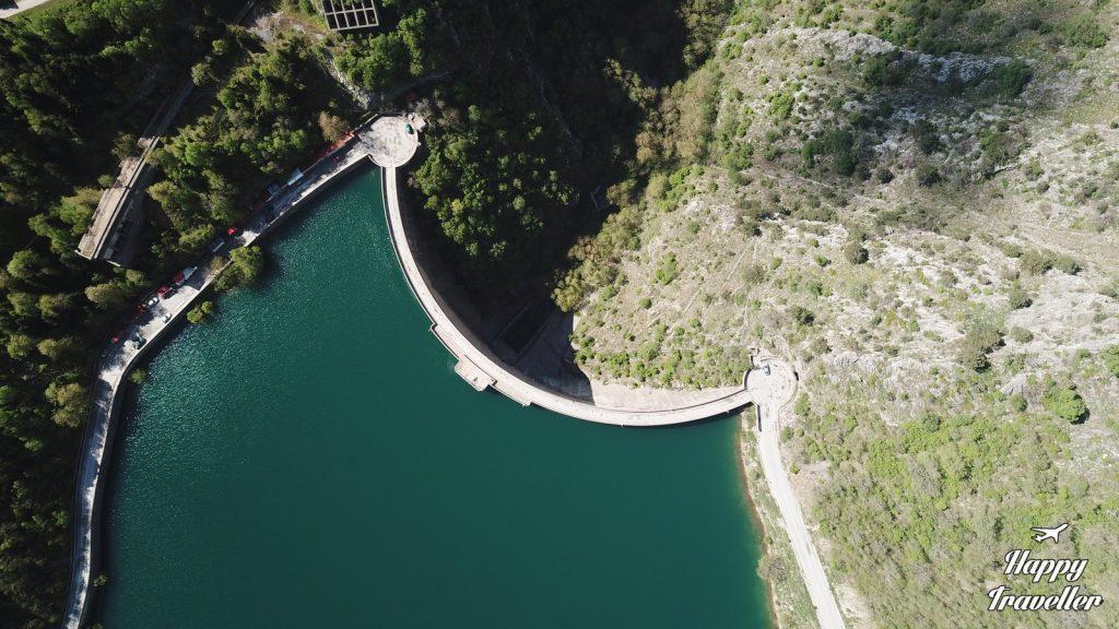 Η Λίμνη και το φράγμα Πλαστήρα