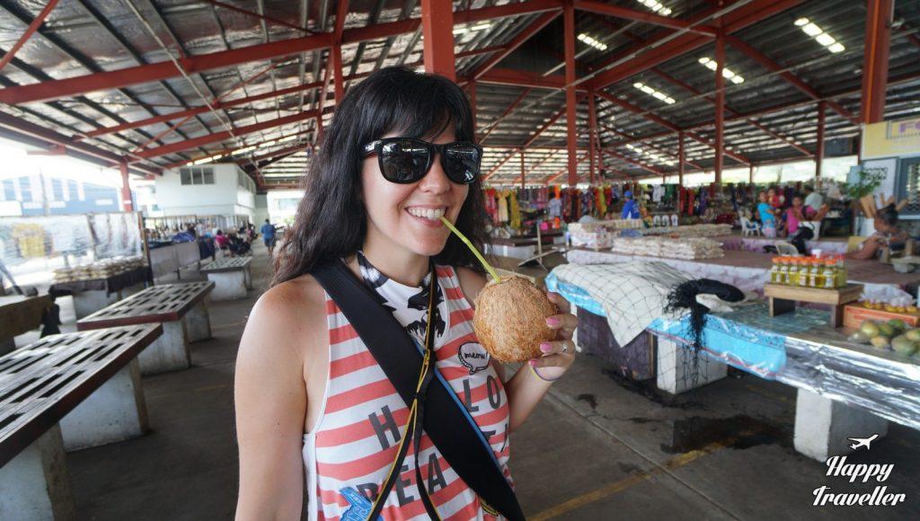 Βόλτα στην κεντρική αγορά της Άπια, Σαμόα