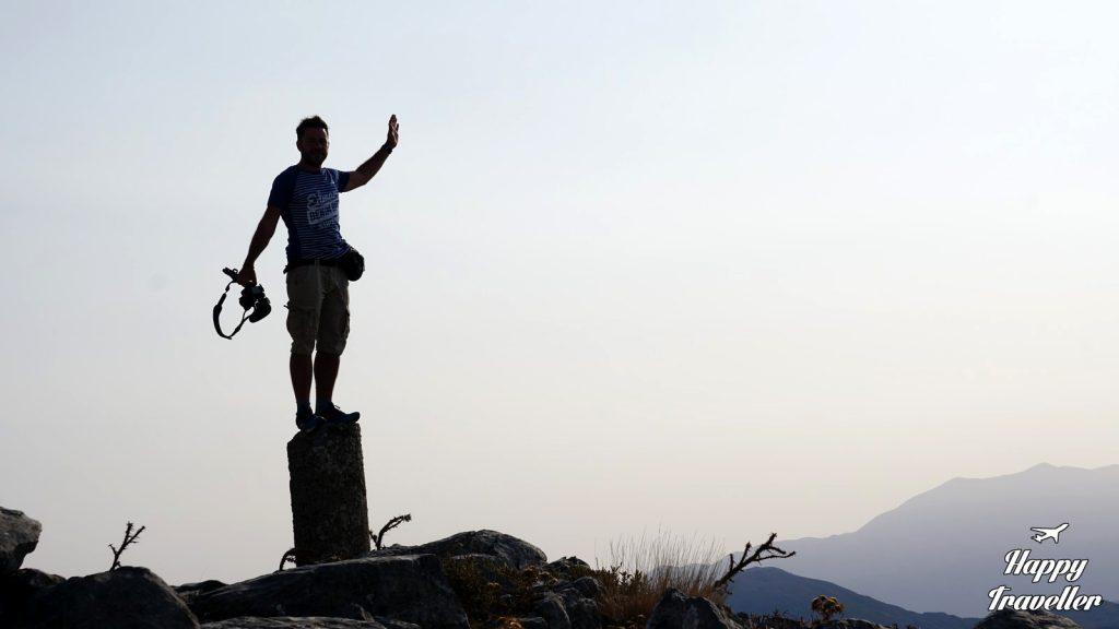 Ο Ευτύχης στο Όρος Κουρούπα