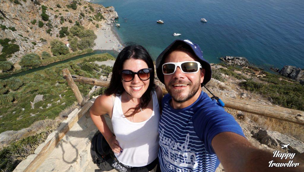 Ο Ευτύχης και η Ηλέκτρα στην Παραλία του Πρέβελη