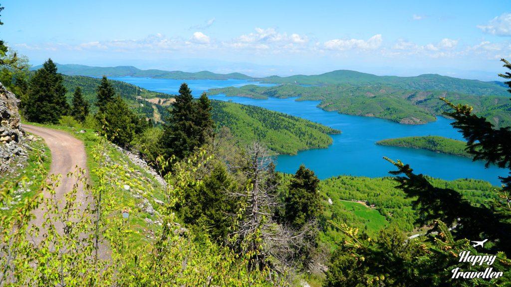 Άποψη της λίμνης Πλαστήρα από το Παρατηρητήριο