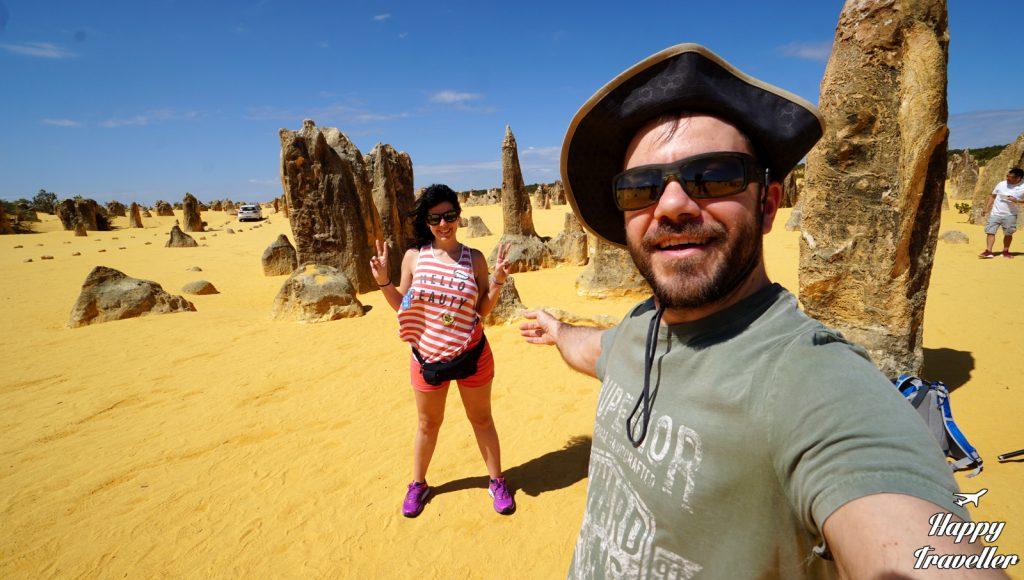perth pinnacles australia happy traveller