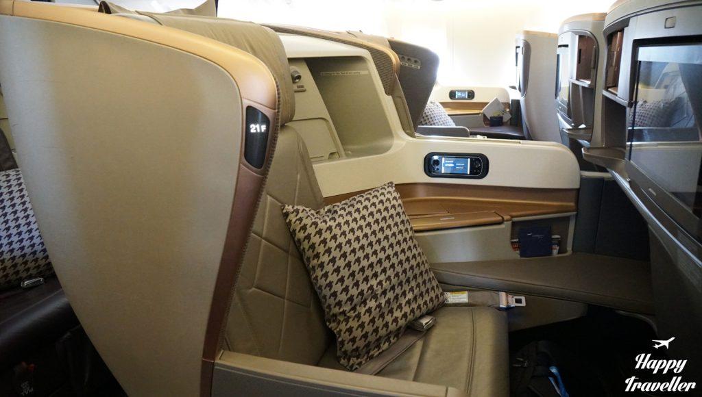 Η Business Class της Singapore Airlines.