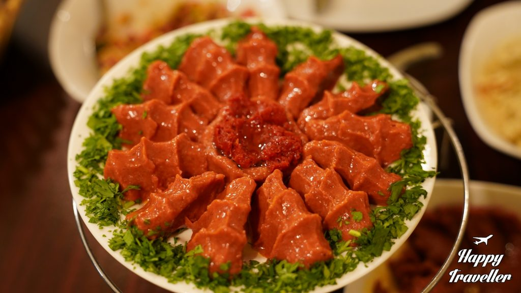 Chi Kofte στο εστιατόριο DERIAN