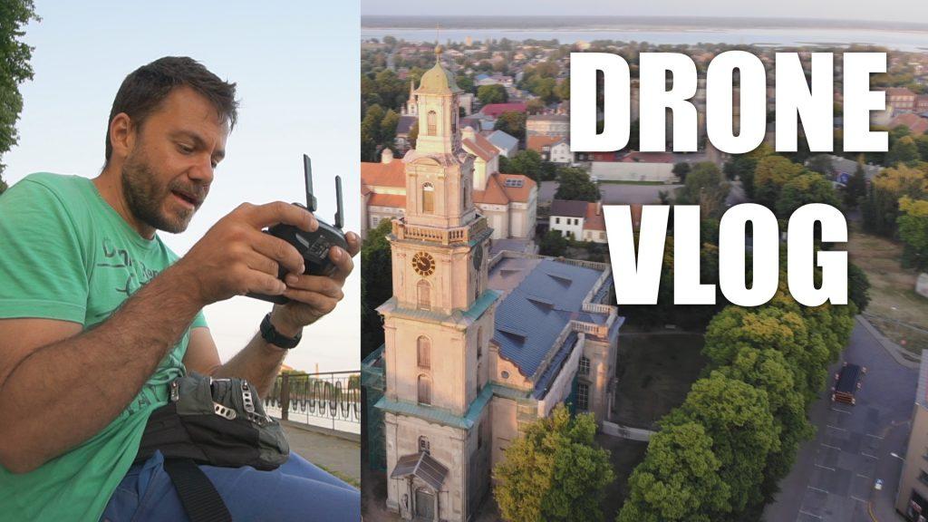 drone vlog liepaja