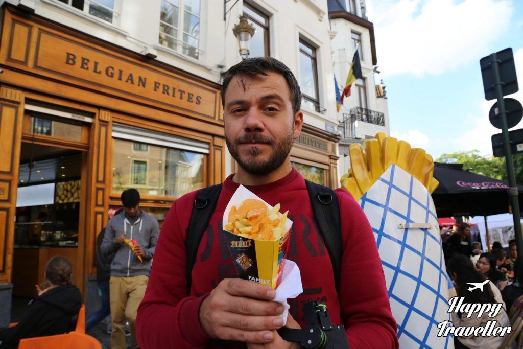 Επιβάλλεται να φας μια μερίδα πατάτες στο Βέλγιο!