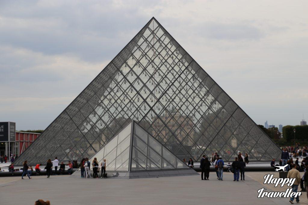 Το Μουσείο του Λούβρου (εξωτερικά), Παρίσι