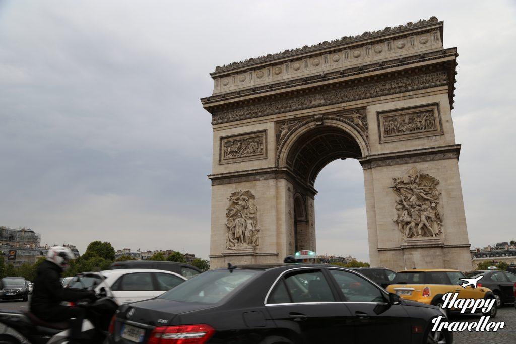 Η αψίδα του Θριάμβου, Παρίσι