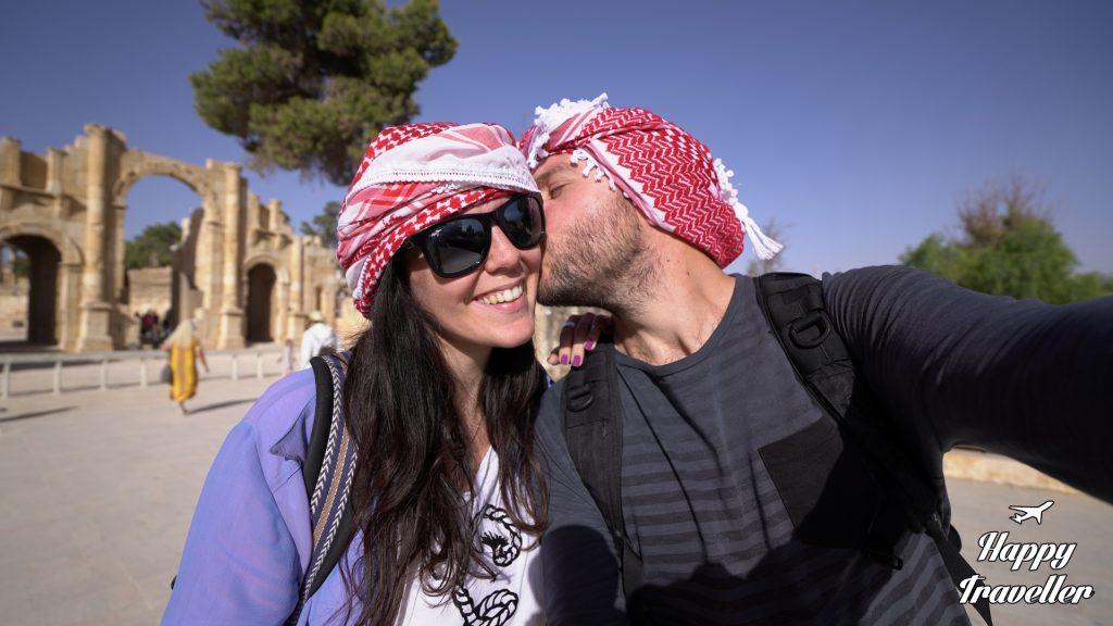 Γέρασα, Ιορδανία