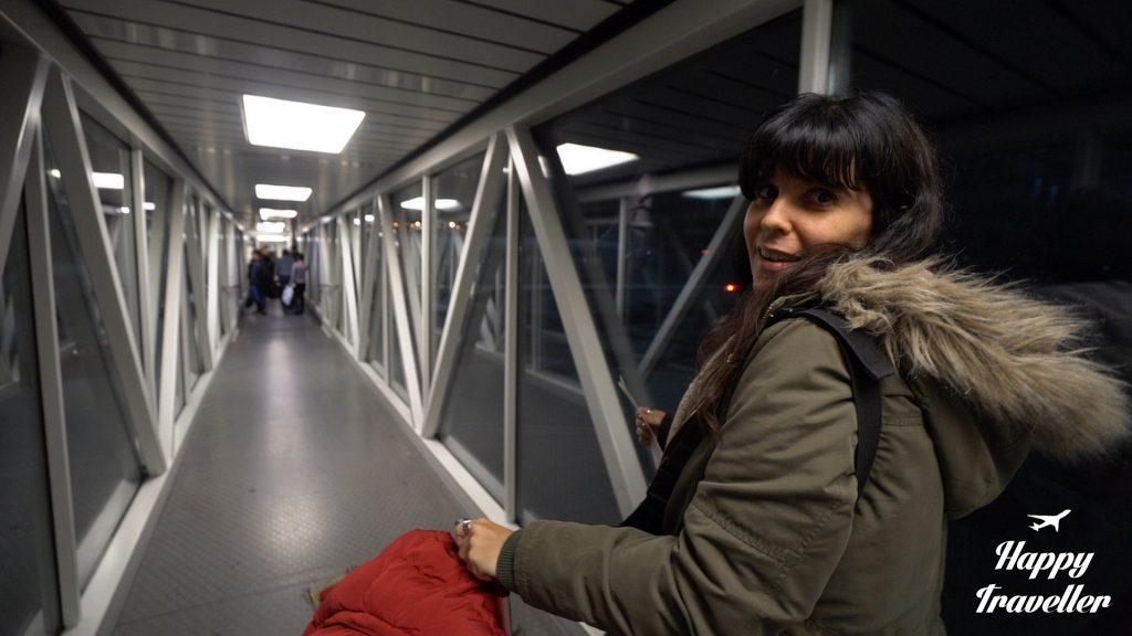 Μπαίνουμε στο αεροπλάνο για Ρουμανία