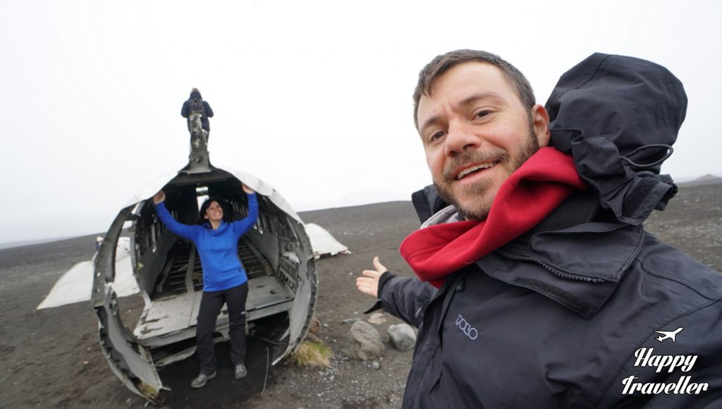 Sólheimasandur DC PLANE ICELAND