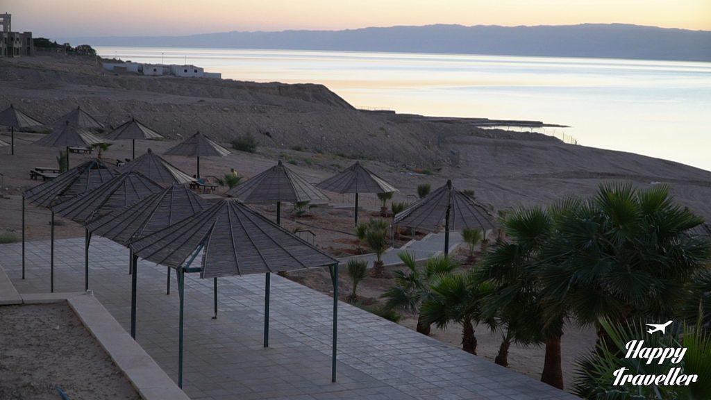 Η Μαύρη θάλασσα όπως φαίνεται από το ξενοδοχείο που μείναμε από την πλευρά της Ιορδανίας