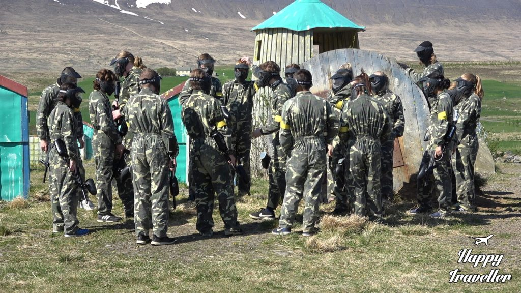 Paintball , Iceland