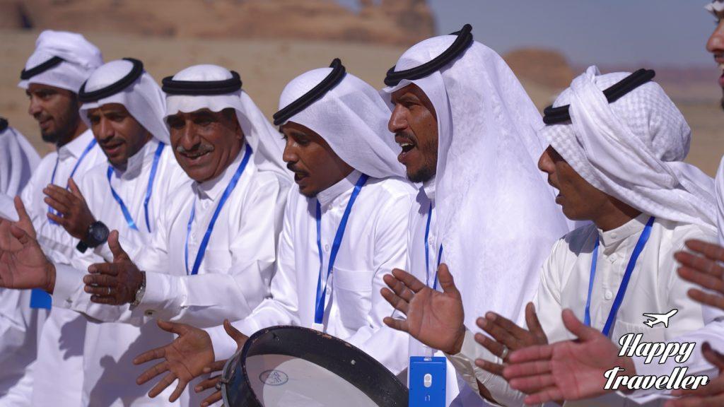 saudi arabia happy traveller