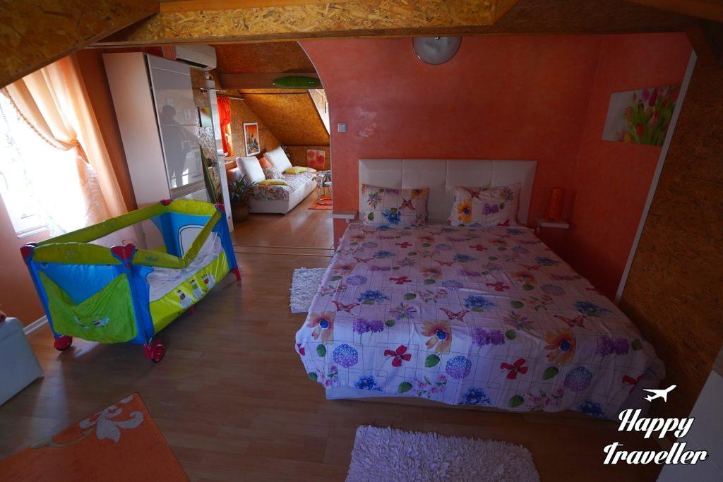 Orange apartments, Sofia Bulgaria