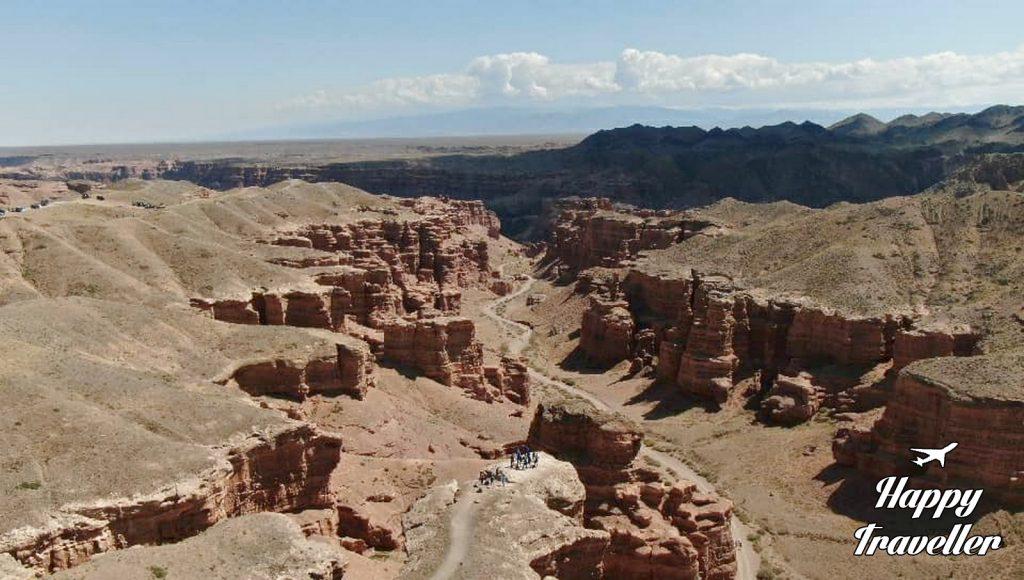 Charyn Canyon Happy Traveller Kazakstan