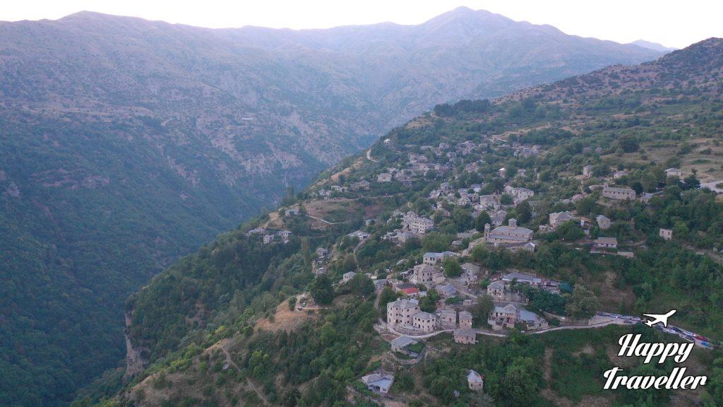 Καλαρρύτες, Τζουμέρκα - Αθαμανικά Όρη