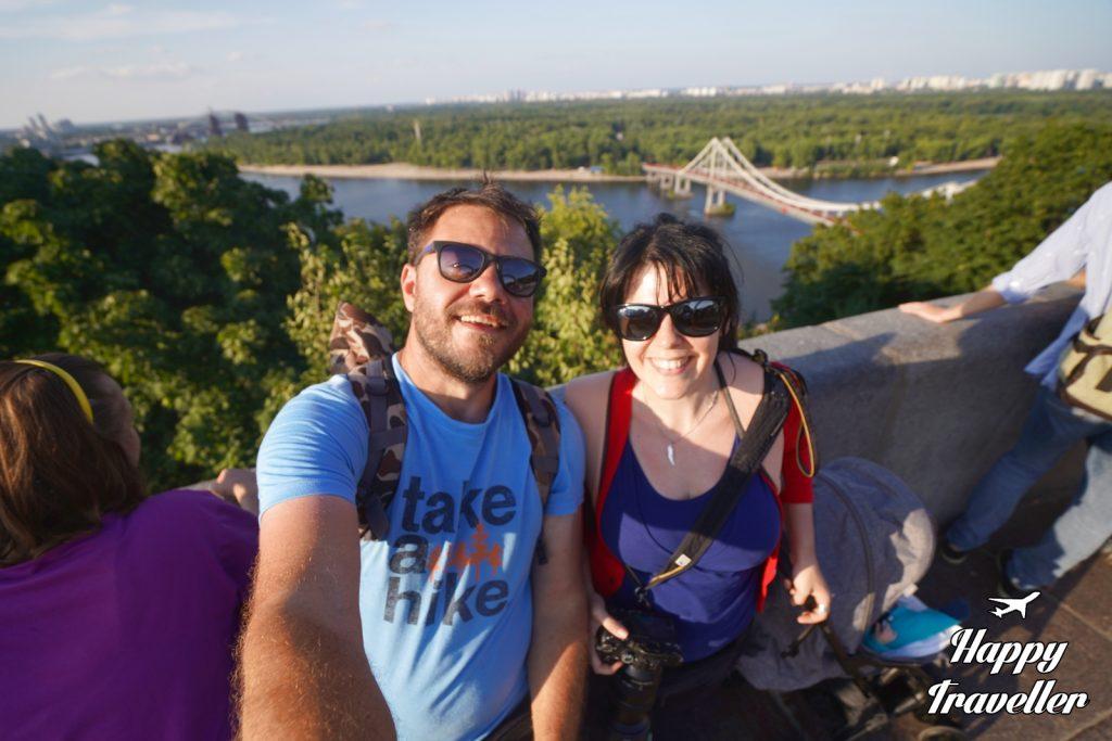 Κίεβο, Ουκρανία με τη μικρή μας στο καροτσάκι