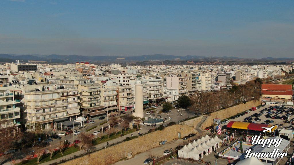 Αλεξανδρούπολη από ψηλά