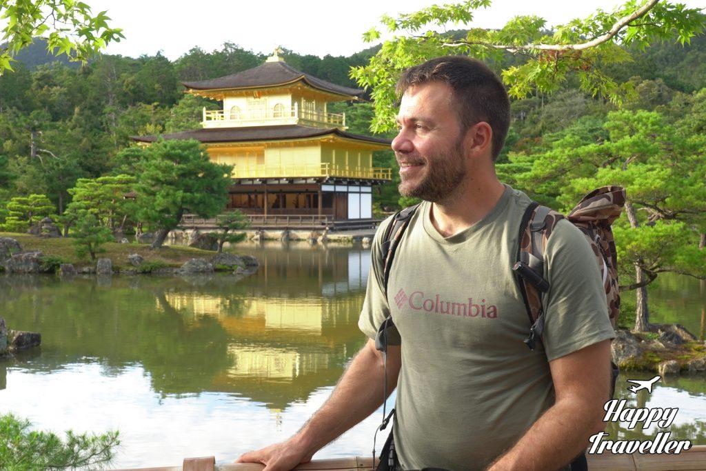 Golden Temple Kioto Japan Happy Traveller (2)