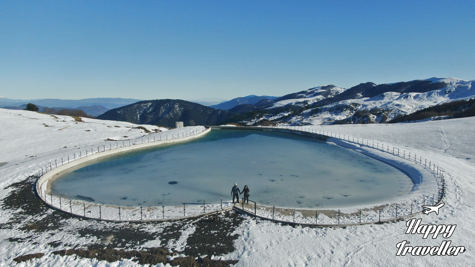 Στο Χιονοδρομικό Κέντρο Ανηλίου - Μετσόβου υπάρχει μια παγωμένη ...